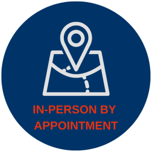 In-Person by Appointment