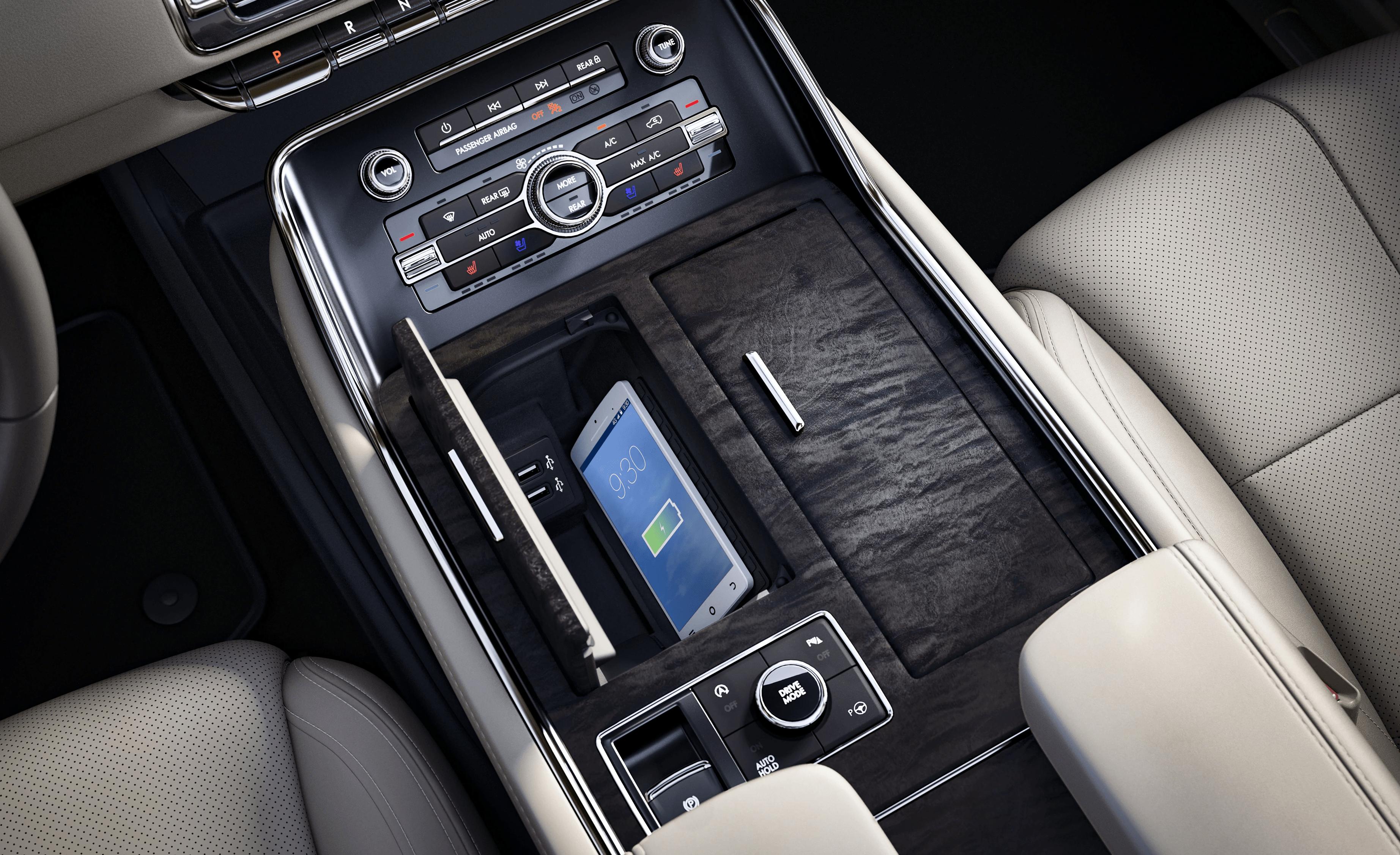 Navigator Interior Console