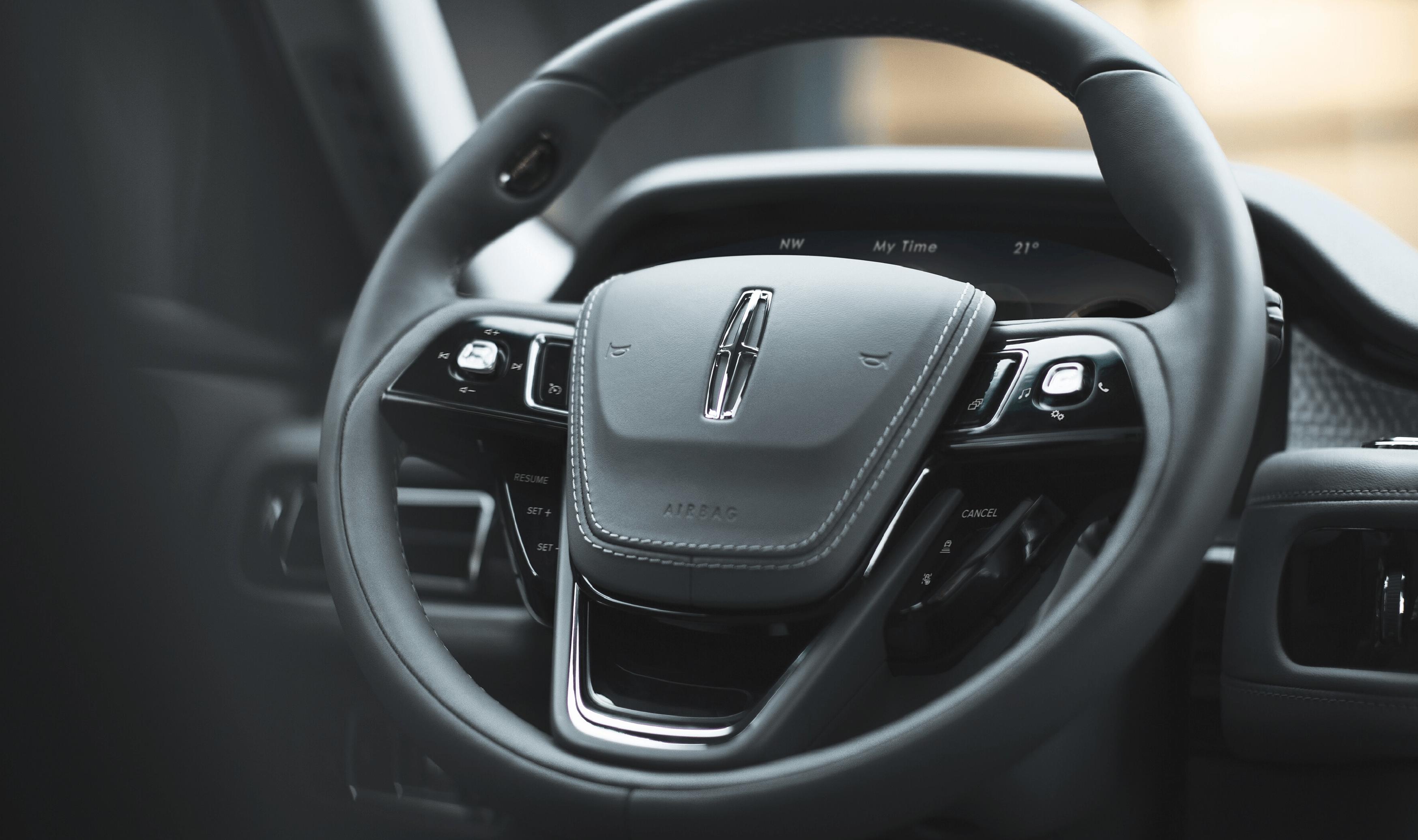 Aviator Interior Steering Wheel