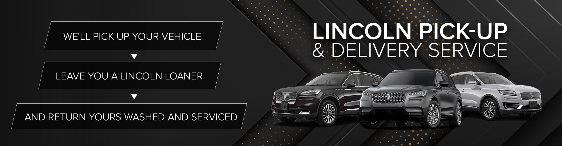 Lincoln Pick-Up & Delivery Service
